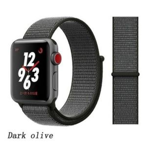 NEW Dark Olive Sport Strap Band For Apple Watch